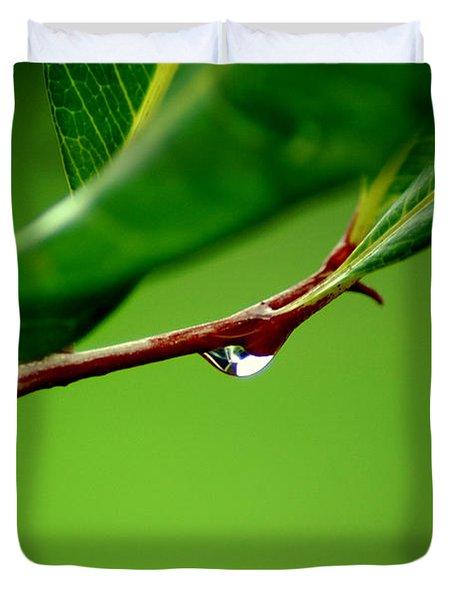 Leafdrop Duvet Cover