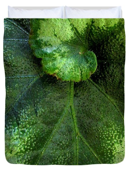Leafy Greens Duvet Cover