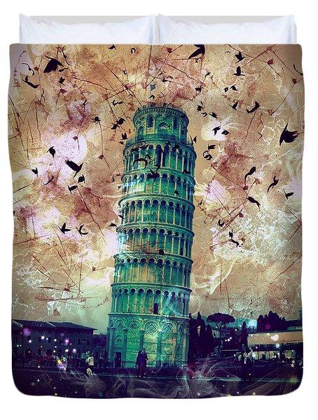Leaning Tower Of Pisa 1 Duvet Cover