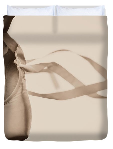 Learning To Fly Duvet Cover by Laura Fasulo