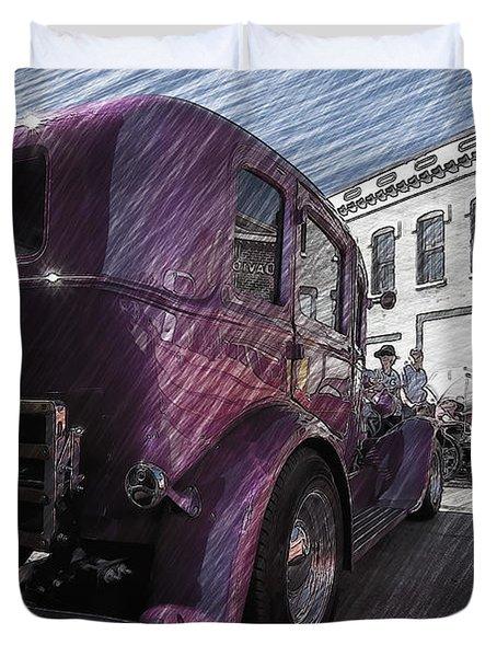 Leavenworth Kansas Duvet Cover by Liane Wright