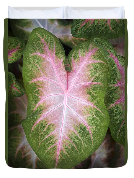 Leaves 2 Duvet Cover