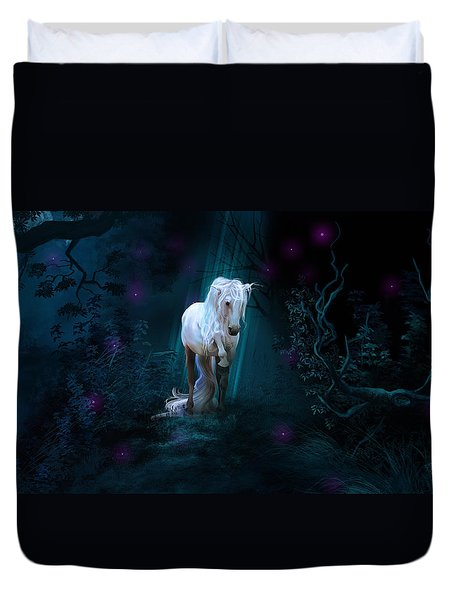 Left Alone Duvet Cover