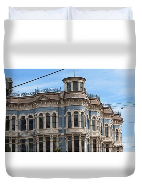 Left In Time Duvet Cover