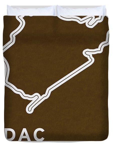 Legendary Races - 1927 Eifelrennen Duvet Cover by Chungkong Art