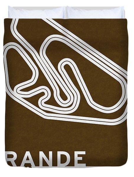 Legendary Races - 1973 Grande Premio Do Brasil Duvet Cover by Chungkong Art