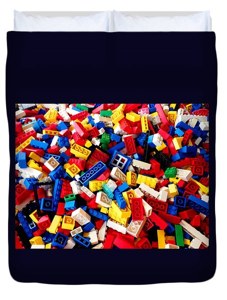 Lego - From 4 To 99 Duvet Cover