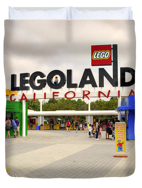 Legoland California Duvet Cover
