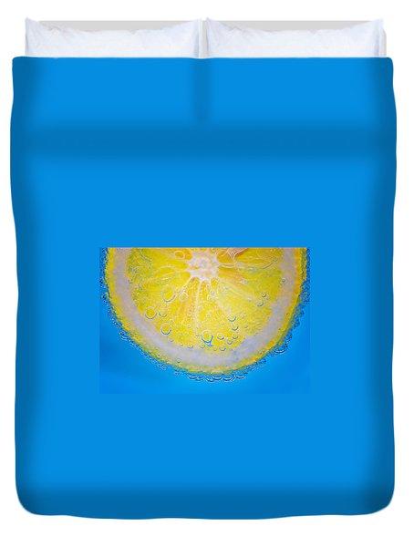 Lemon Drops Duvet Cover