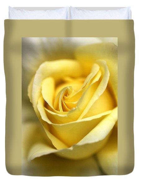 Duvet Cover featuring the photograph Lemon Lush by Joy Watson