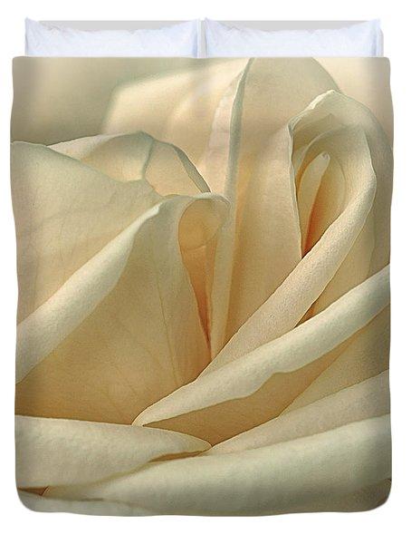 Lemon Meringue Duvet Cover by Darlene Kwiatkowski