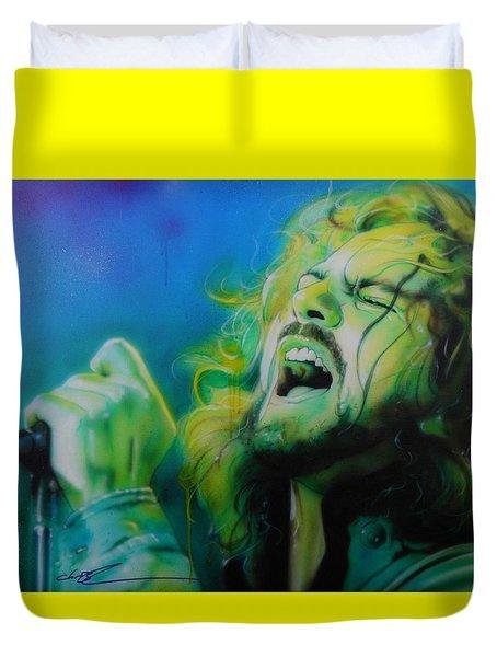 Lemon Yellow Sun Duvet Cover