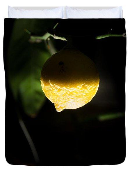Lemon's Planet Duvet Cover