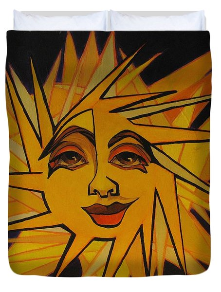 Lenny - Here Comes The Suns Duvet Cover