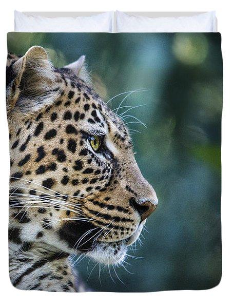 Leopard's Look Duvet Cover