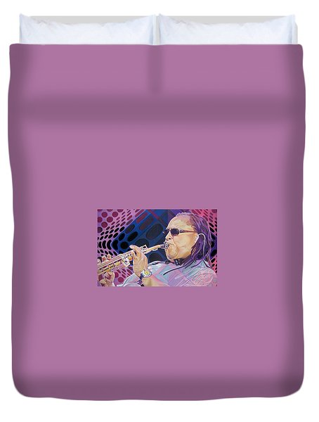 Leroi Moore-op Art Series Duvet Cover