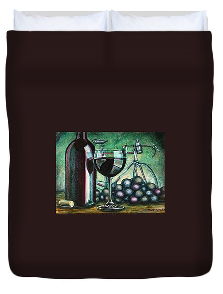 L'eroica Still Life Duvet Cover by Mark Jones