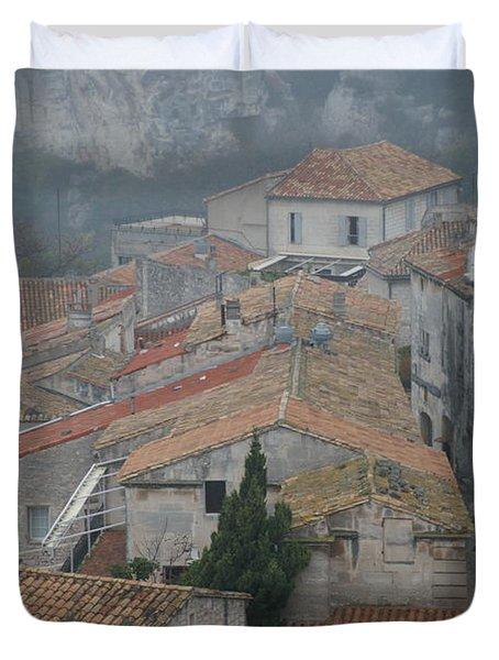 Les Baux Duvet Cover