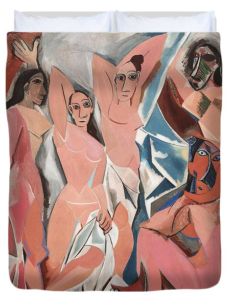 Les Demoiselles D Avignon Duvet Cover