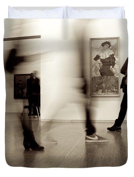 Les Fantasmes De Pompidou Duvet Cover
