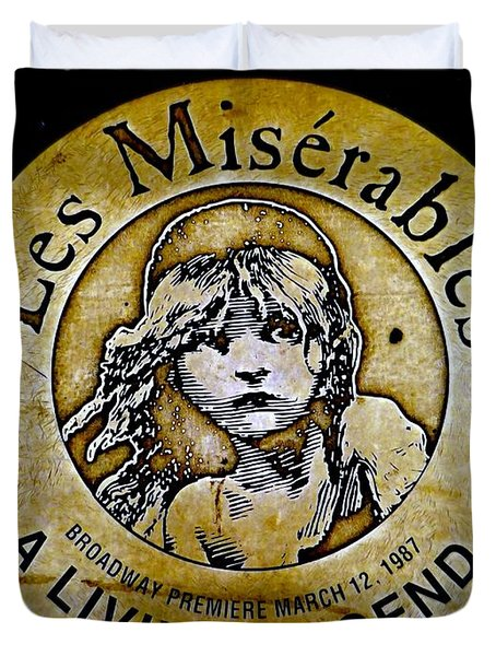 Les Miserables Duvet Cover