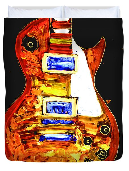 Les Paul 111 Duvet Cover