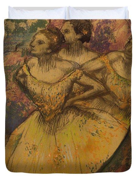 Les Trois Danseuses, C.1896-1905 Duvet Cover