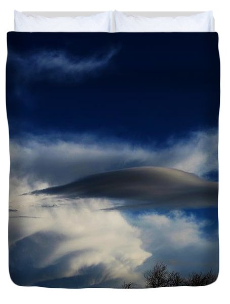 Let The Storm Season Begin Duvet Cover