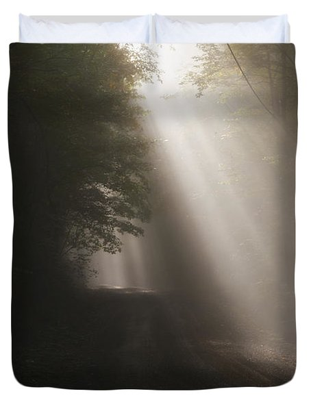Let The Sun Shine Duvet Cover