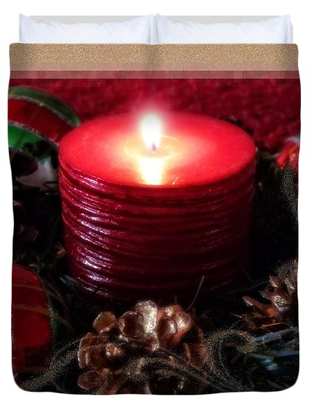 Let Your Light Shine Duvet Cover by Lucinda Walter