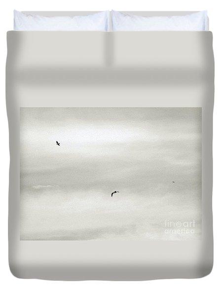 Let Your Spirit Soar Duvet Cover by Robyn King