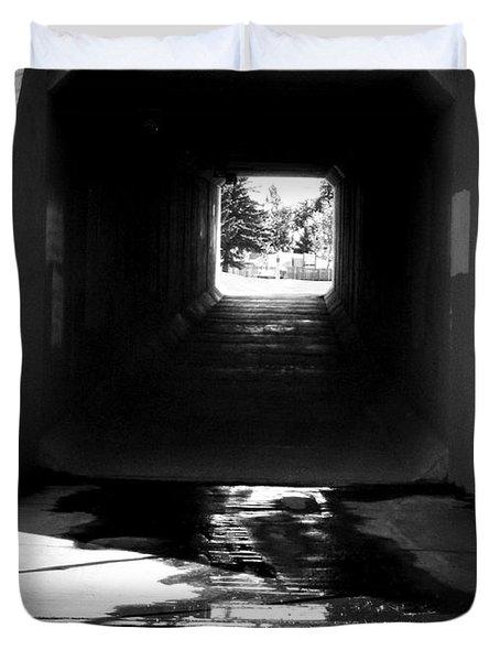 Lethbridge Underpass Duvet Cover