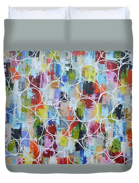 Lets Blow Bubbles Duvet Cover