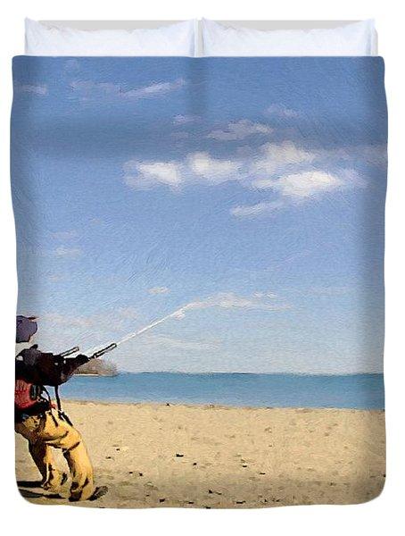 Let's Go Fly A Kite Duvet Cover