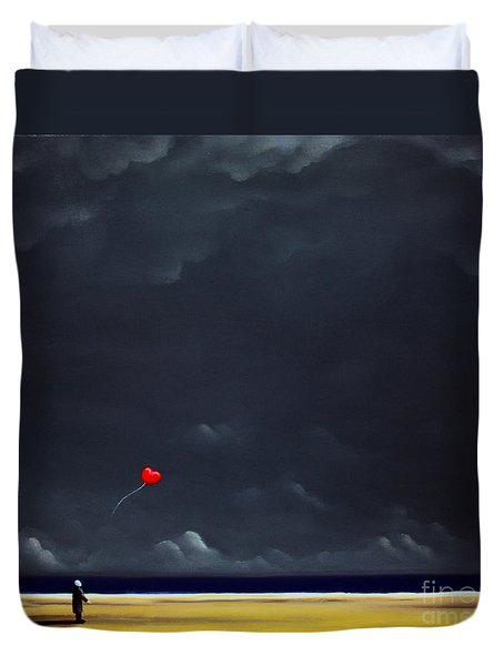 Letting Go Duvet Cover