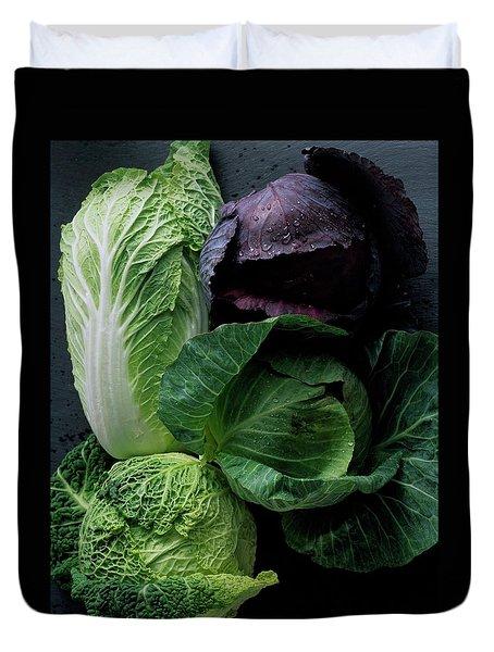 Lettuce Duvet Cover