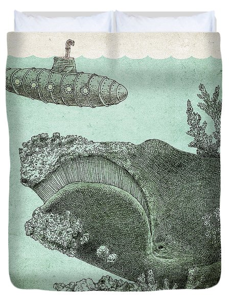 Leviathan Duvet Cover