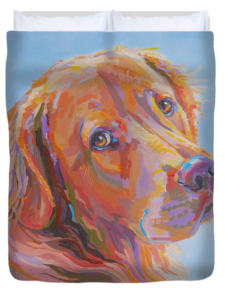 Lewis Duvet Cover by Kimberly Santini