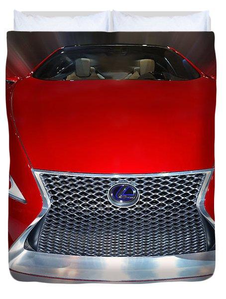 Lexus L F - L C Hybrid 2013 Duvet Cover