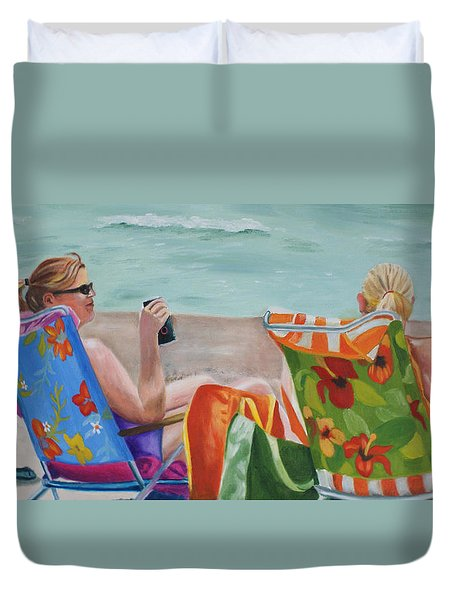 Ladies' Beach Retreat Duvet Cover
