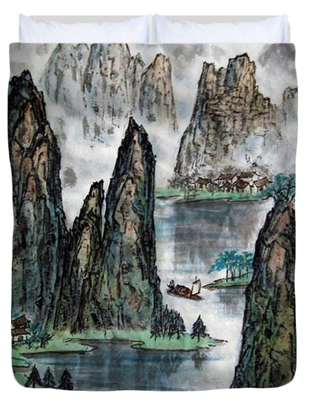 Li River Duvet Cover