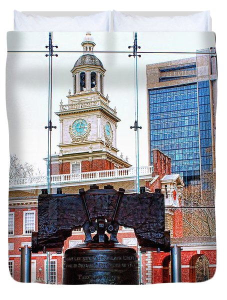 Liberty Bell Duvet Cover