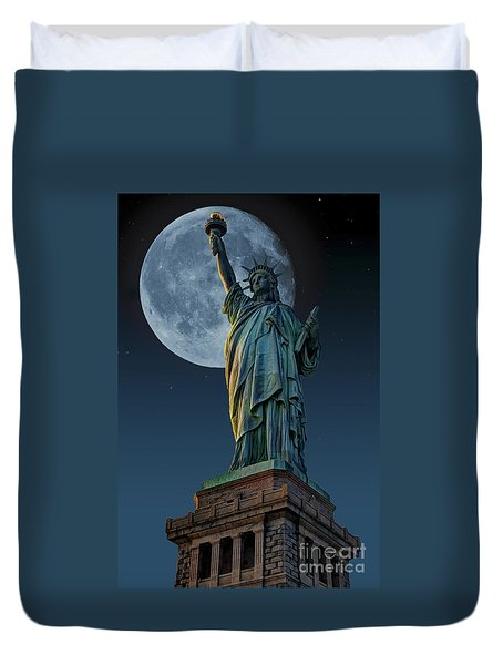 Liberty Moon Duvet Cover