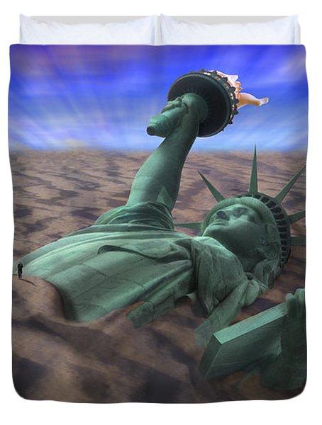 Liberty Park Duvet Cover by Mike McGlothlen