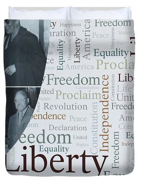 Liberty Duvet Cover by Sonali Gangane