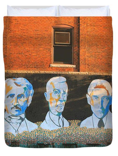 Liberty Street Mural Duvet Cover