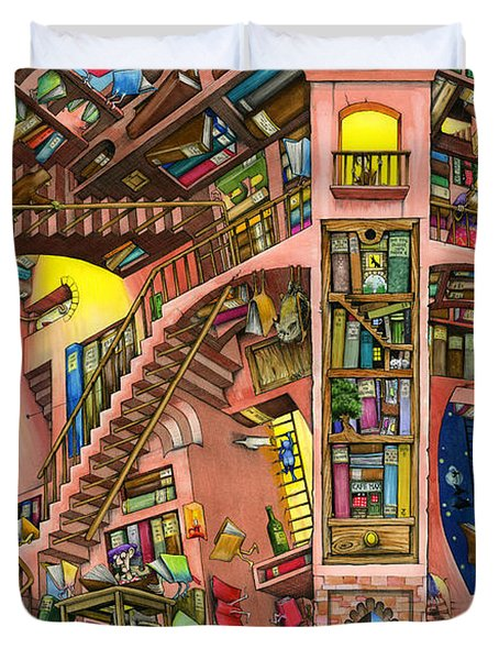 Library Duvet Cover