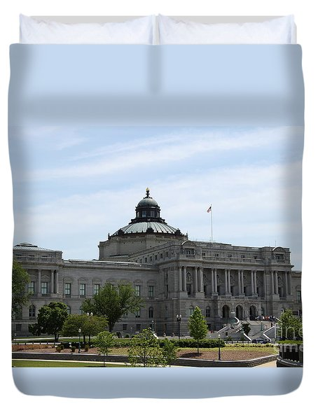 Library Of Congress  Duvet Cover by Christiane Schulze Art And Photography