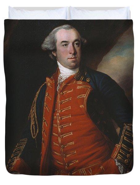 Lieutenant Colonel William Phillips 1764 Duvet Cover by Francis Cotes