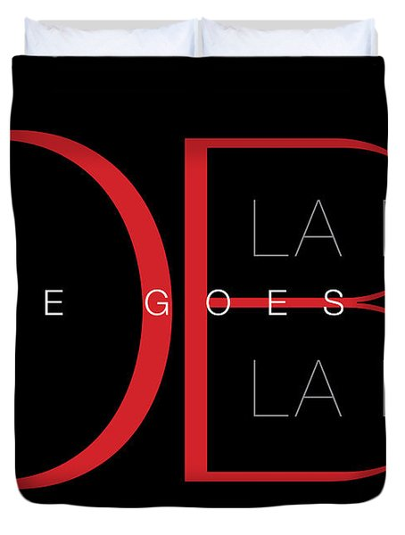 Life Goes On 1 Duvet Cover by Stephen Anderson